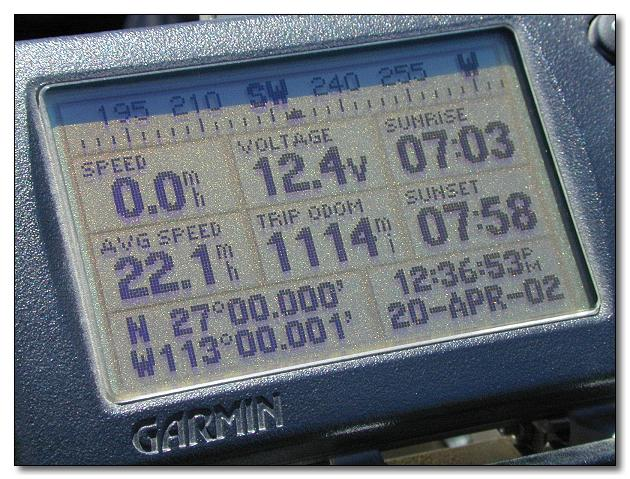 GPS in Baja California
